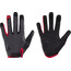Cube Natural Fit Langfinger Handschuhe grey'n'red